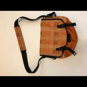 🛍Timbuk2 Orange Plaid Messenger Shoulder Bag 🛍